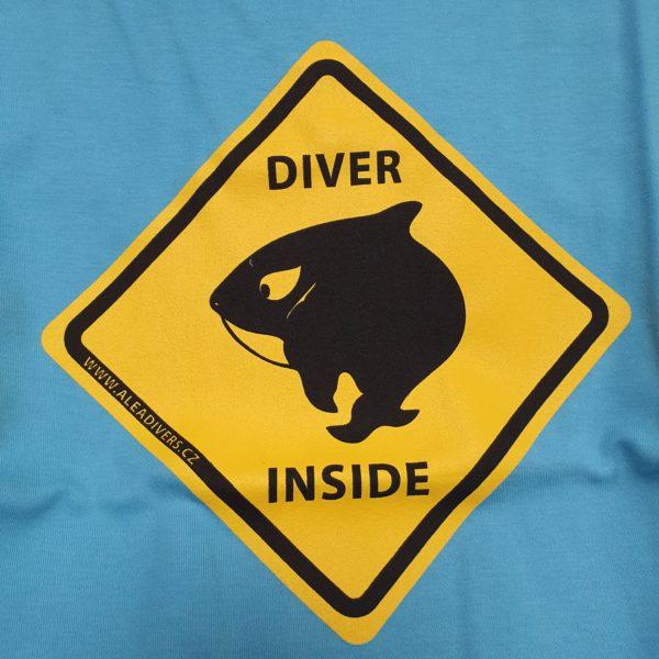 Tricko damske Diver inside ALEA Divers