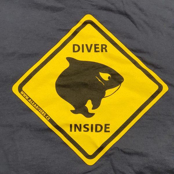 Tricko panske Diver inside ALEA Divers